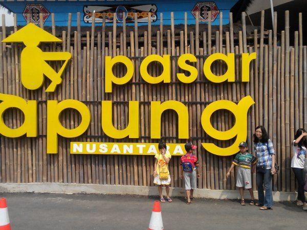 Pasar Apung Nusantara Museum Angkut Kota Batu