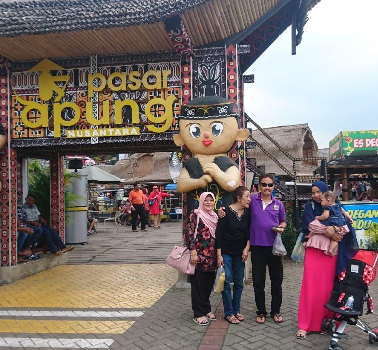 Pintu Masuk Depan Pasar Apung Nusantara Traveling Dulu Foto Apermanasoenoe2708