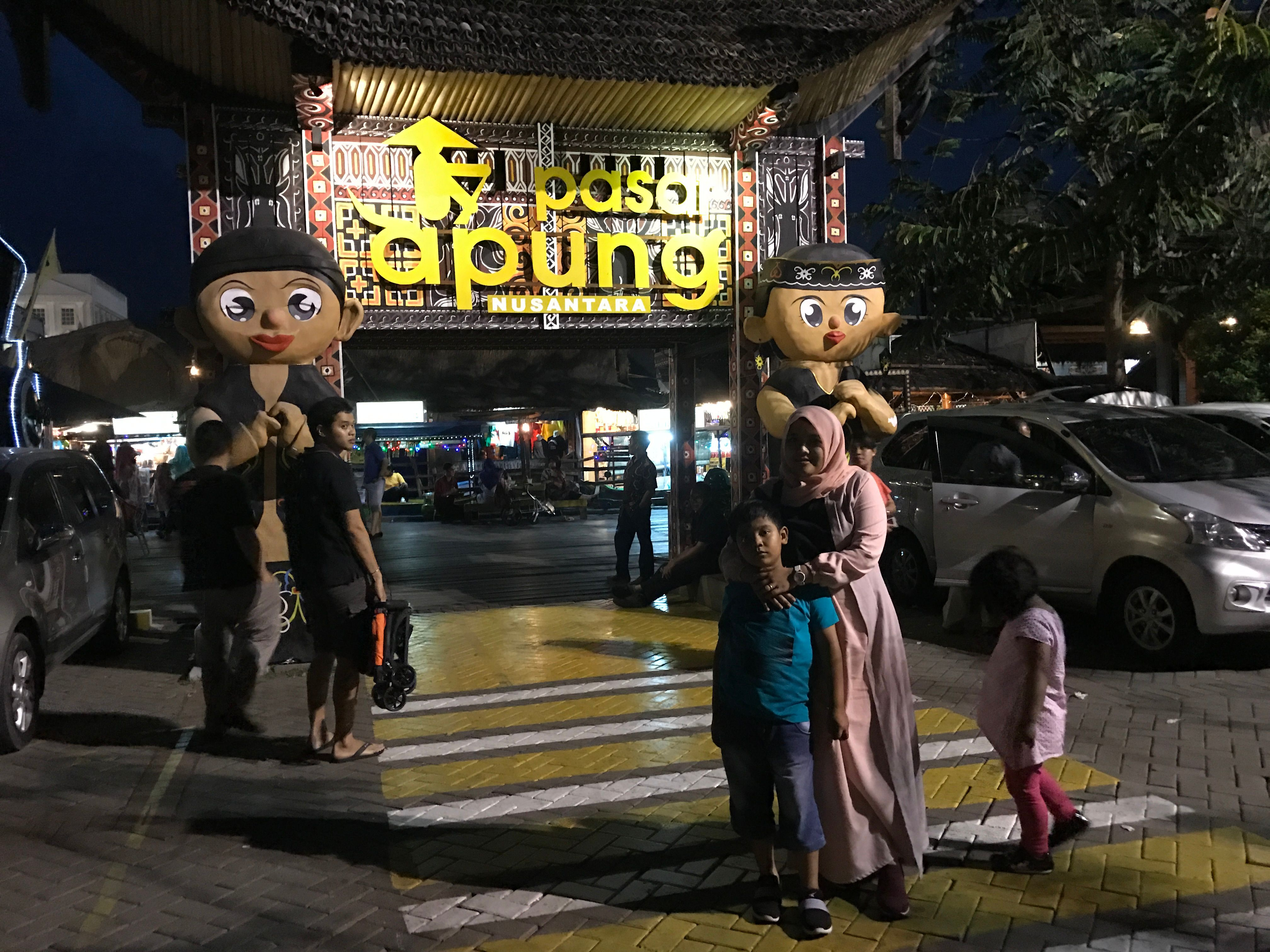 Pulotravels 24 Pasar Apung Nusantara Kota Batu Malang Steemit Sejauh