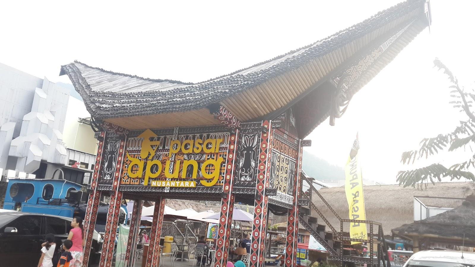 Reni Dwi Astuti Pasar Apung Nusantara Museum Angkut Malang Pintu