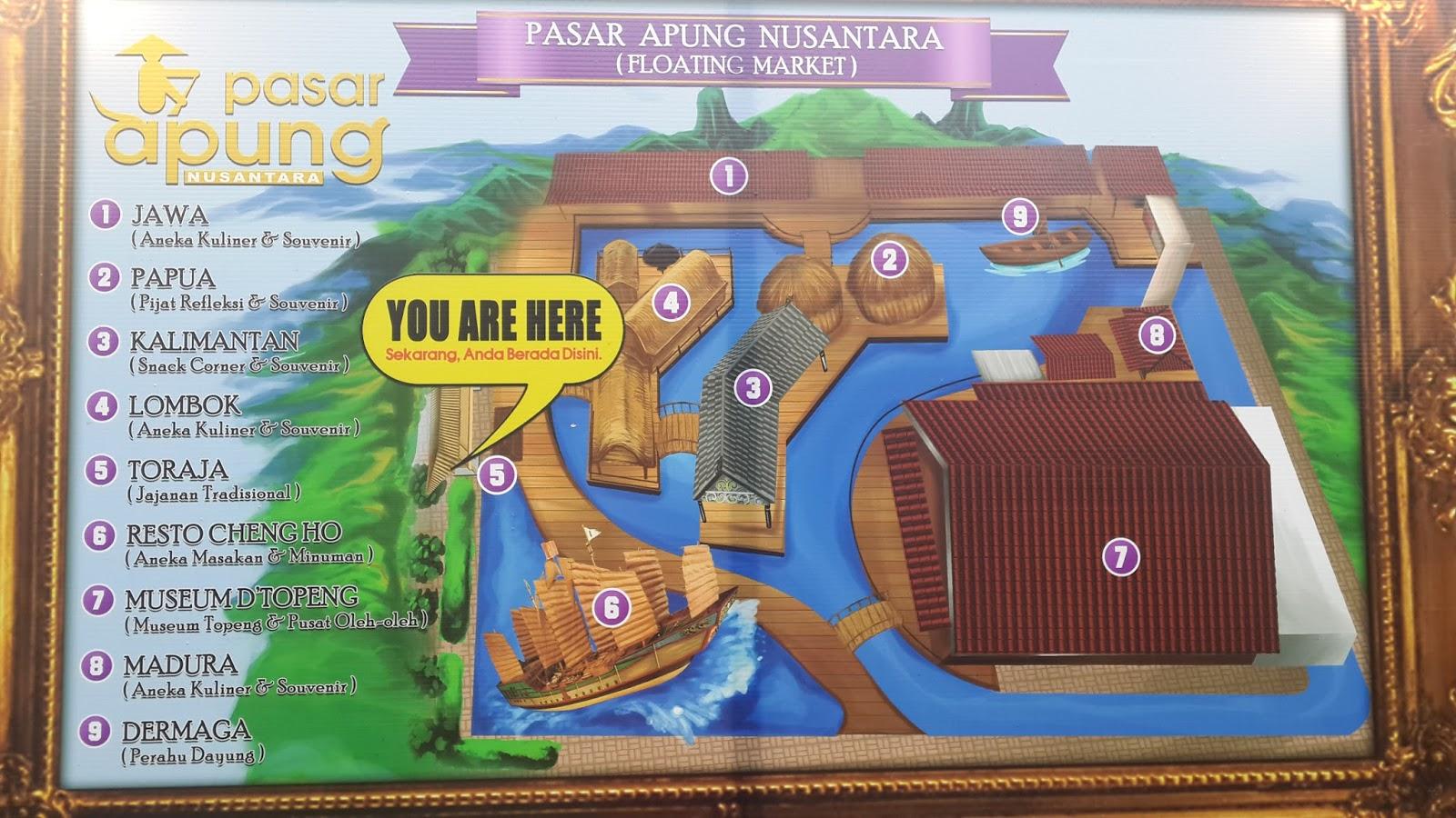 Reni Dwi Astuti Pasar Apung Nusantara Museum Angkut Malang Sebenarnya