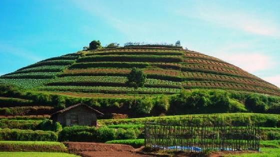 Wisata Pemandian Air Panas Cangar Batu Malang Ladang Asri Hijau