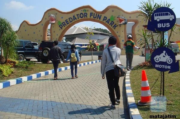 Ekstrim Wahana Predator Fun Park Malang Pintu Masuk Wisata Kota
