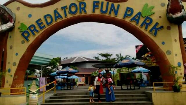 Libur Lebaran Ayo Mancing Buaya Predator Fun Park Batu Kota