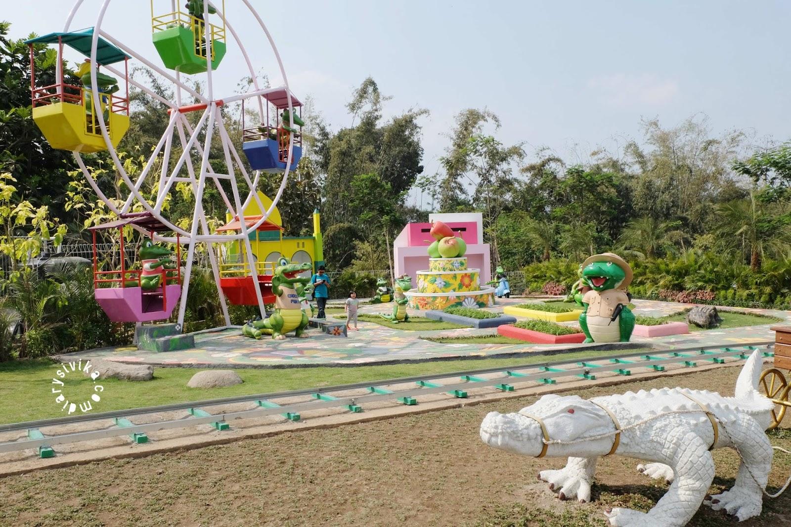 Predator Fun Park Kota Batu Menyeramkan Diarysivika Food Permainan Anak