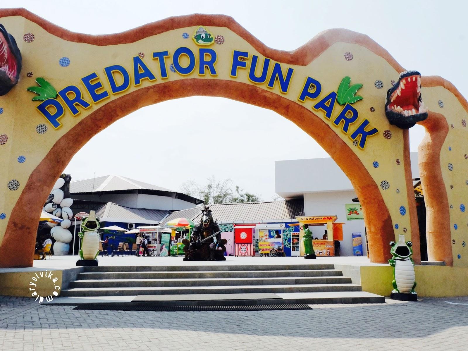 Predator Fun Park Kota Batu Menyeramkan Diarysivika Food