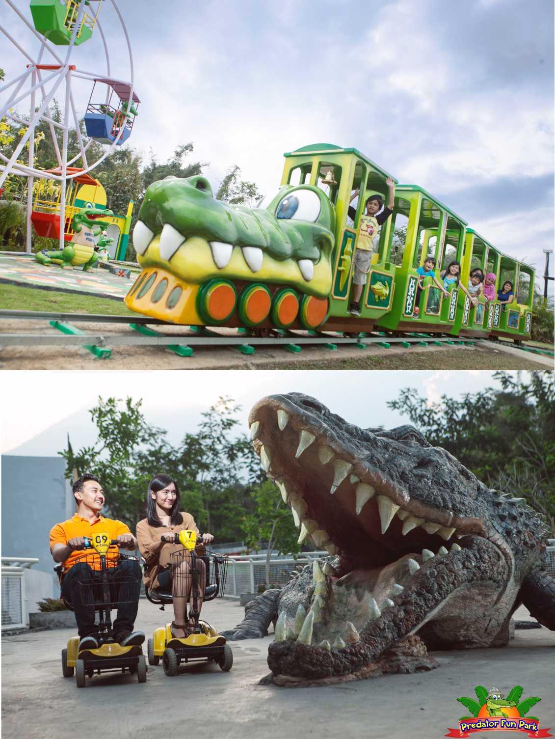 Predator Fun Park Wahana Wisata Pecinta Binatang Buas Batu Www