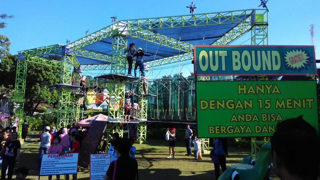 Serunya Memacu Adrenalin Outbound Predator Fun Park Jatimpark Wahana Kota