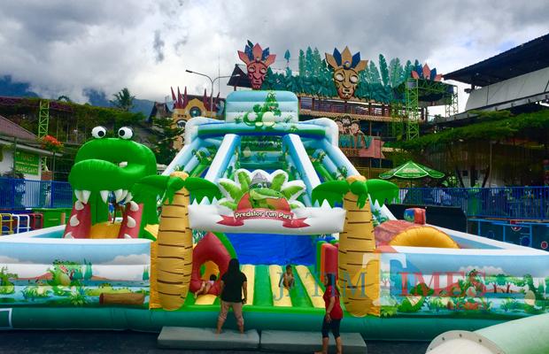 Wisata Yuk Main Sepuasnya Wahana Raksasa Bounce Castle Anak Asyik