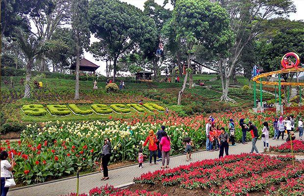 Kebun Bunga Wahana Kawasan Wisata Batu Selecta Malang Menurut Badan