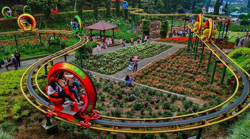 Keindahan Wisata Alam Taman Rekreasi Selecta Kota Batu