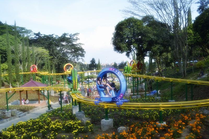 Taman Rekreasi Selecta Batu Malang Jawa Timur Sky Bike Kota