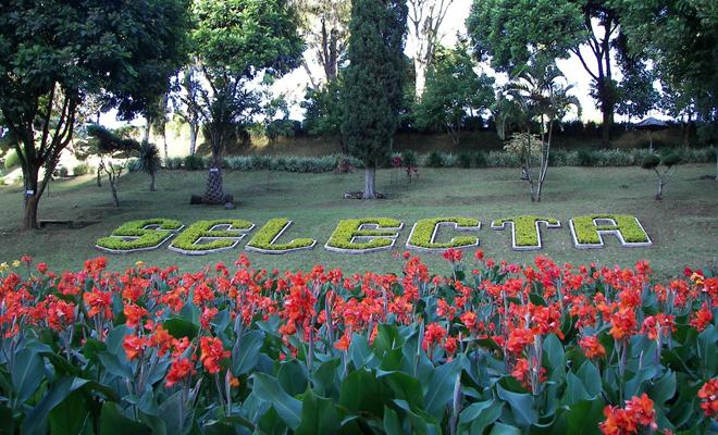 Taman Rekreasi Selecta Batu Malang Kebun Bunga Menawan Salah Satu