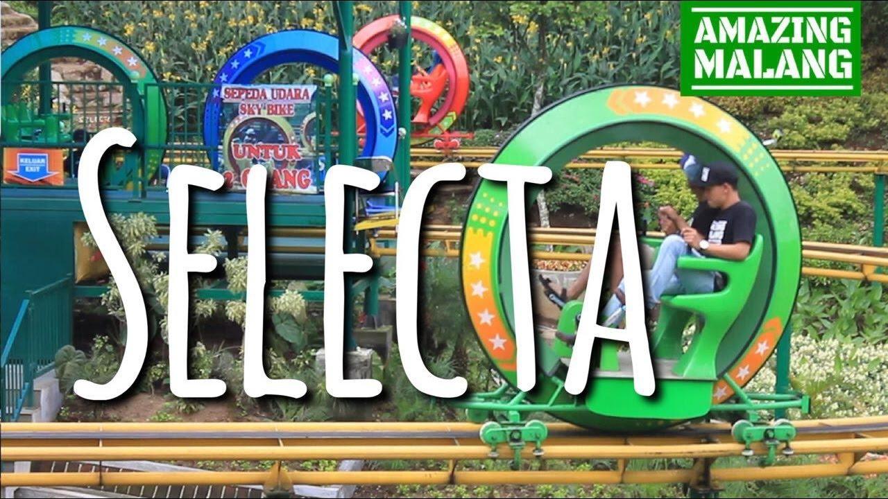 Taman Rekreasi Selecta Wisata Batu Malang Jawa Timur Youtube Kota