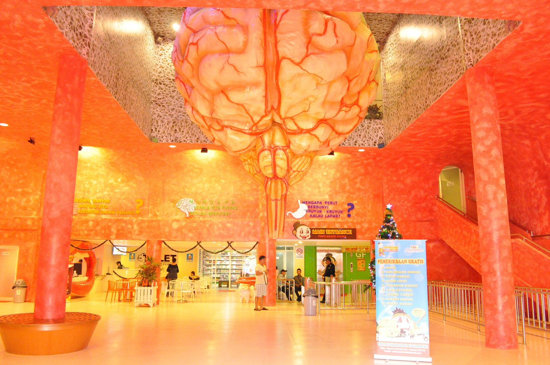 Bagong Adventure Human Body Museum Pit Perdami Indonesia Largest Southeast