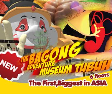 Diskon 50 Bagi Berulang Bulan Desember Bagong Adventure Museum Tubuh
