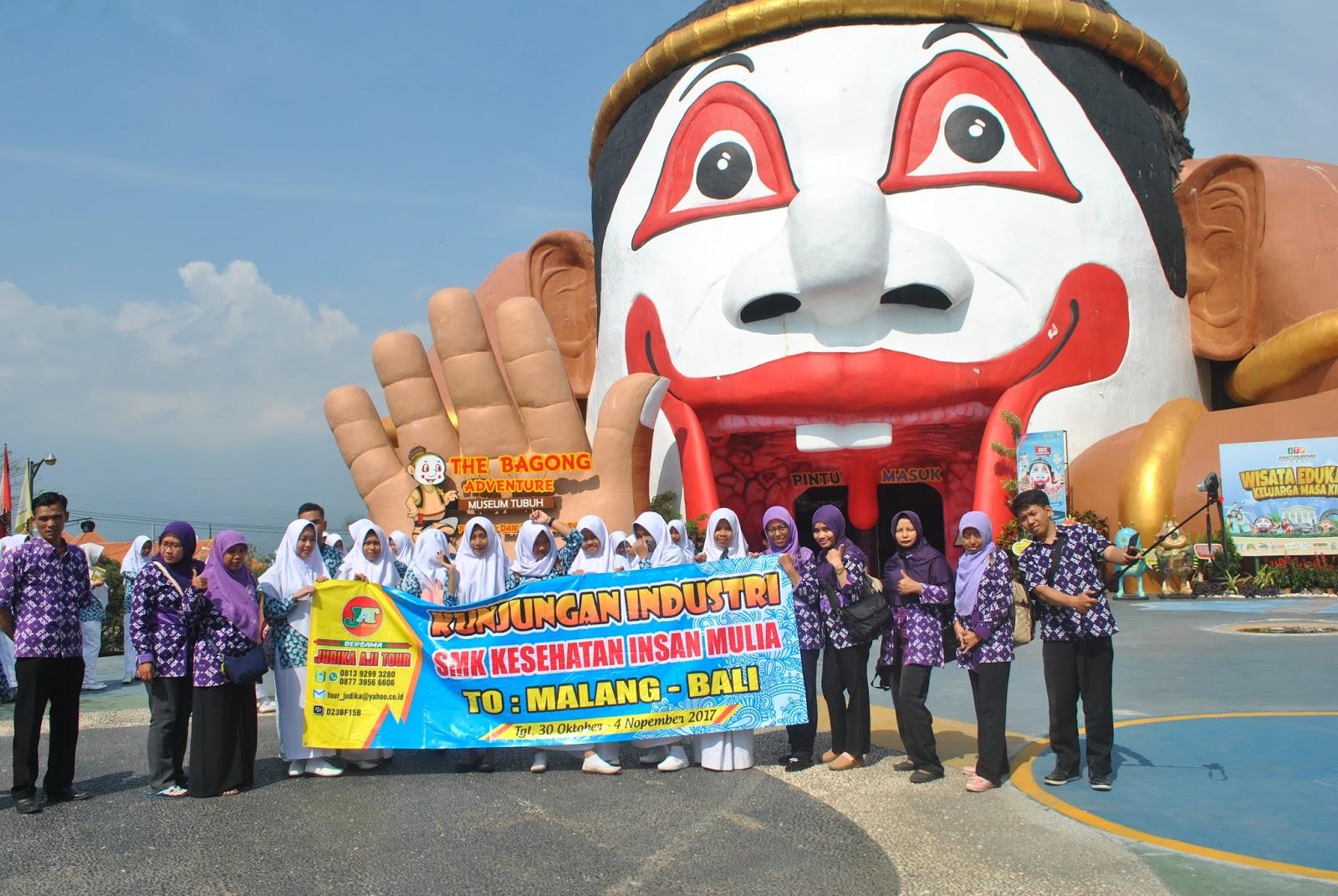 Kunjungan Museum Tubuh Smk Insan Mulia Yogyakarta Bagong Adventure Manusia