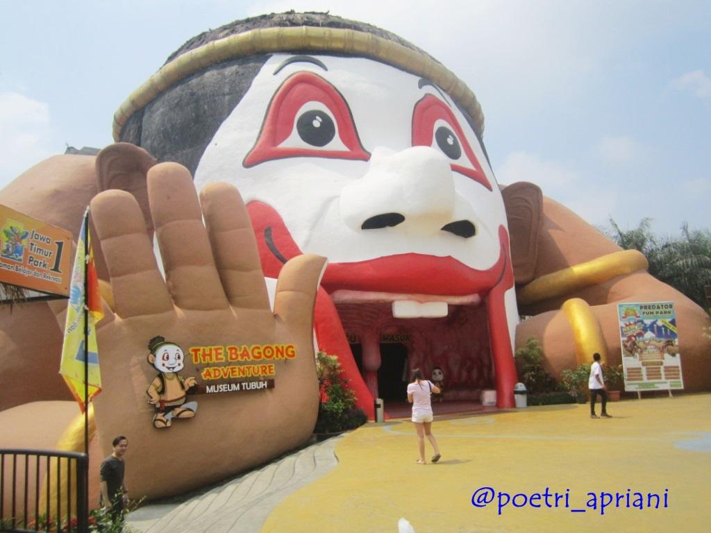 Mengenal Rahasia Tubuh Bagong Adventure Museum Kota Batu
