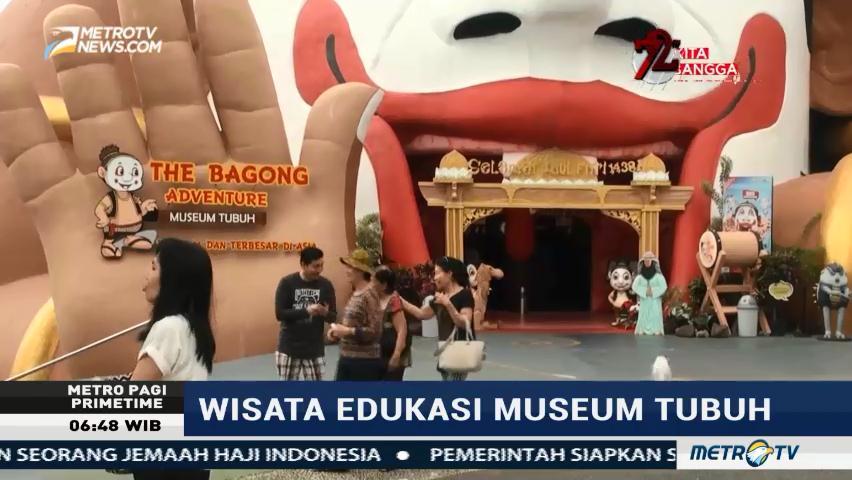 Metro News Mengunjungi Museum Tubuh Malang Bagong Adventure Kota Batu