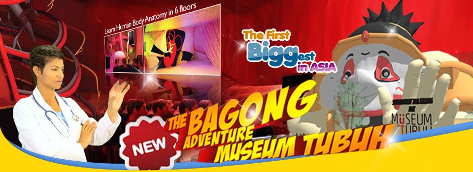 Museum Tubuh Bagong Adventure Batu Villa 9 Detik Melangkah Kota