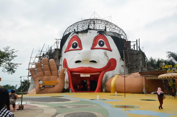 Ngalamsam Bagong Adventure Museum Tubuh Satu Terbaru Hadir Kota Batu