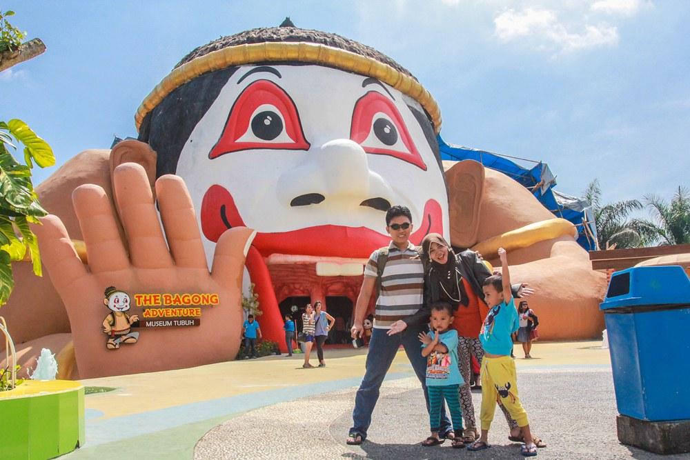Wisata Ngawi Museum Tubuh Bagong Adventure Destinasi Edukasi Berlokasi Kota