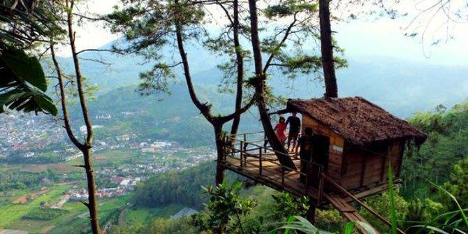 7 Lokasi Romantis Kota Malang Merdeka Wisata Paralayang Omah Kayu