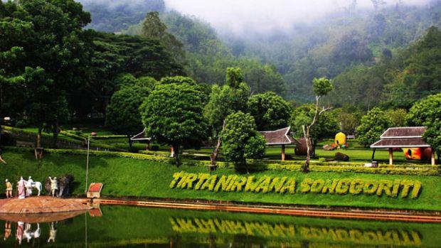Malang Tourism Wuih Songgoriti Dibangun Waterpark Batu Times Tirta Nirwana