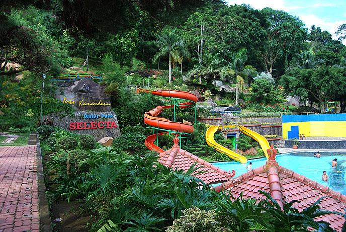 Taman Rekreasi Selecta Batu Rafting Kasembon Malang Alamat Biaya Outbound