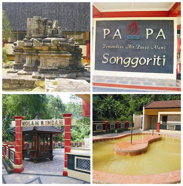 Wisata Songgoriti Kota Batu Malang Villa Murah Pemandian Air Panas