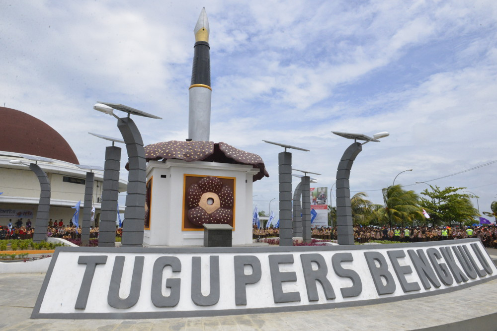 Bengkulu Banderlampung Benteng Marlborough Kota