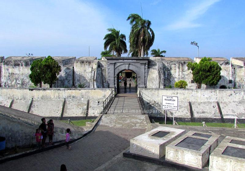 Bengkulu Fort Marlborough Indonesia West Forts Bali Benteng Kota