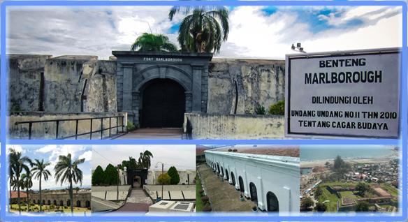 Benteng Marlborough Bengkulu Cagar Budaya Kota