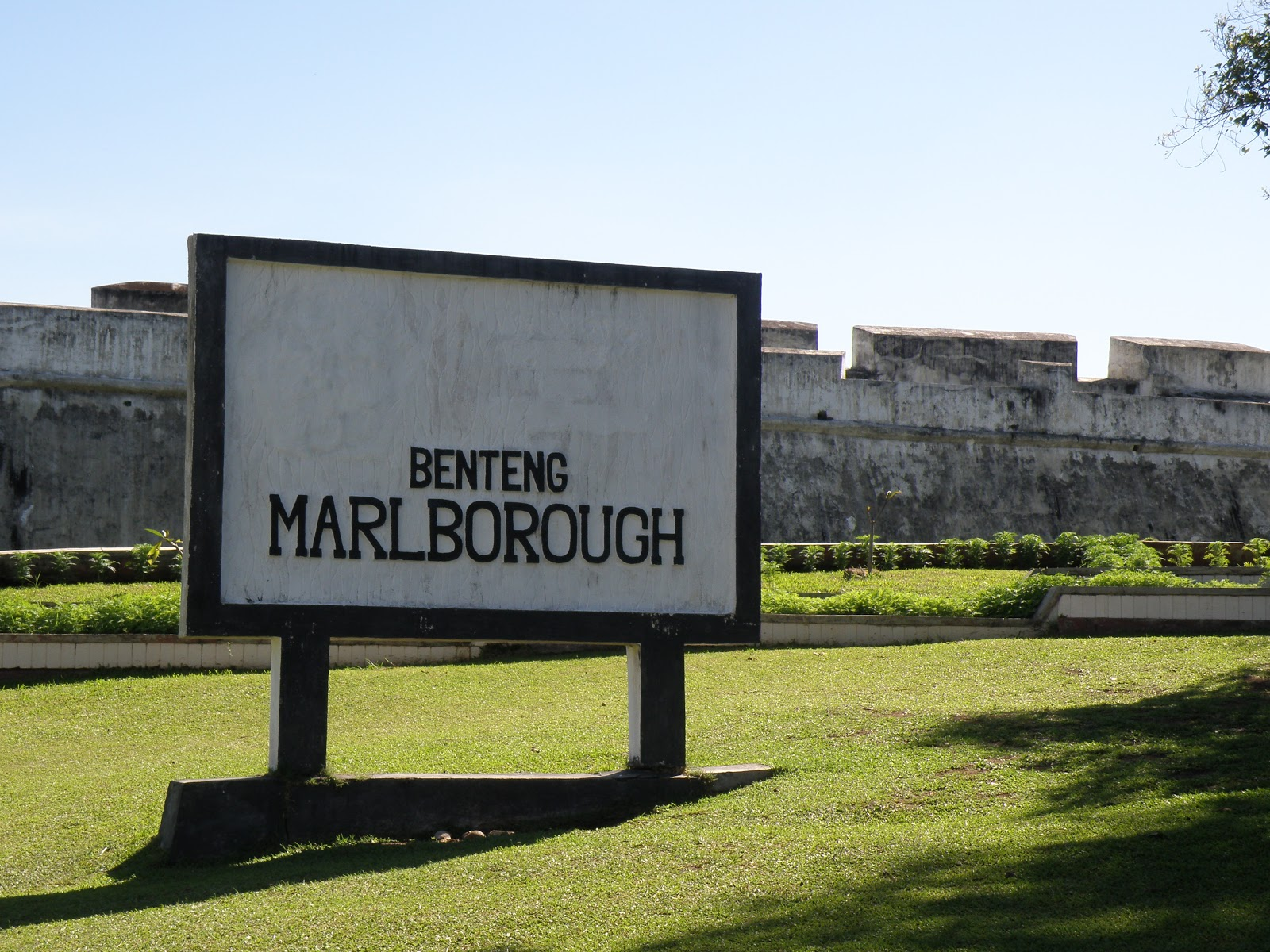 Benteng Marlborough Bengkulu Wisata Kerja Indonesia Kota