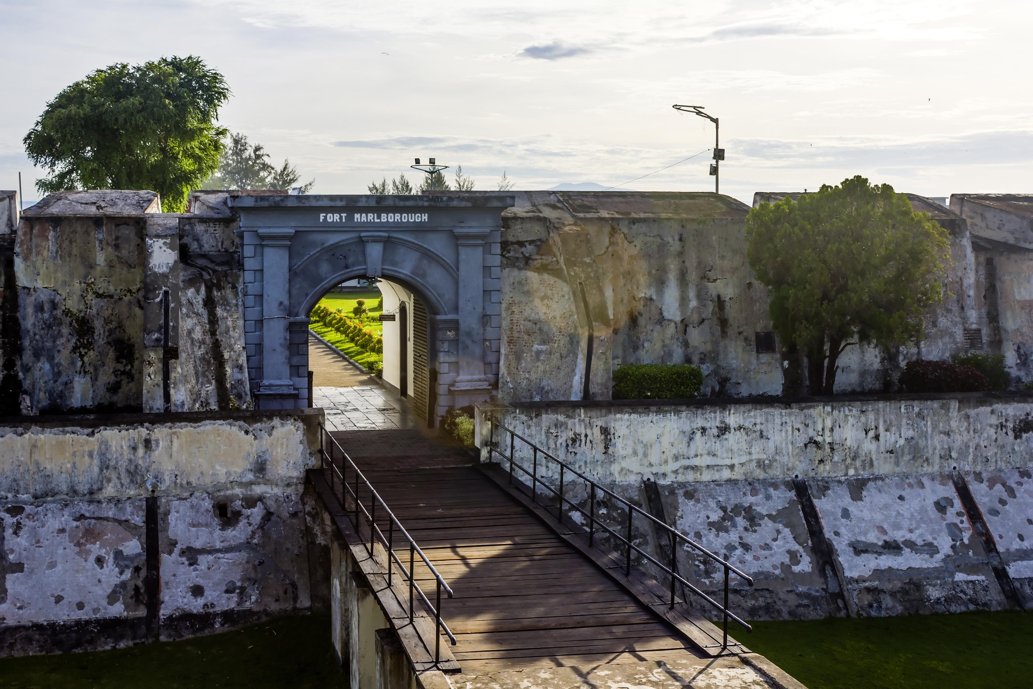 File Front Gate Fort Marlborough Bengkulu 2015 04 19 01