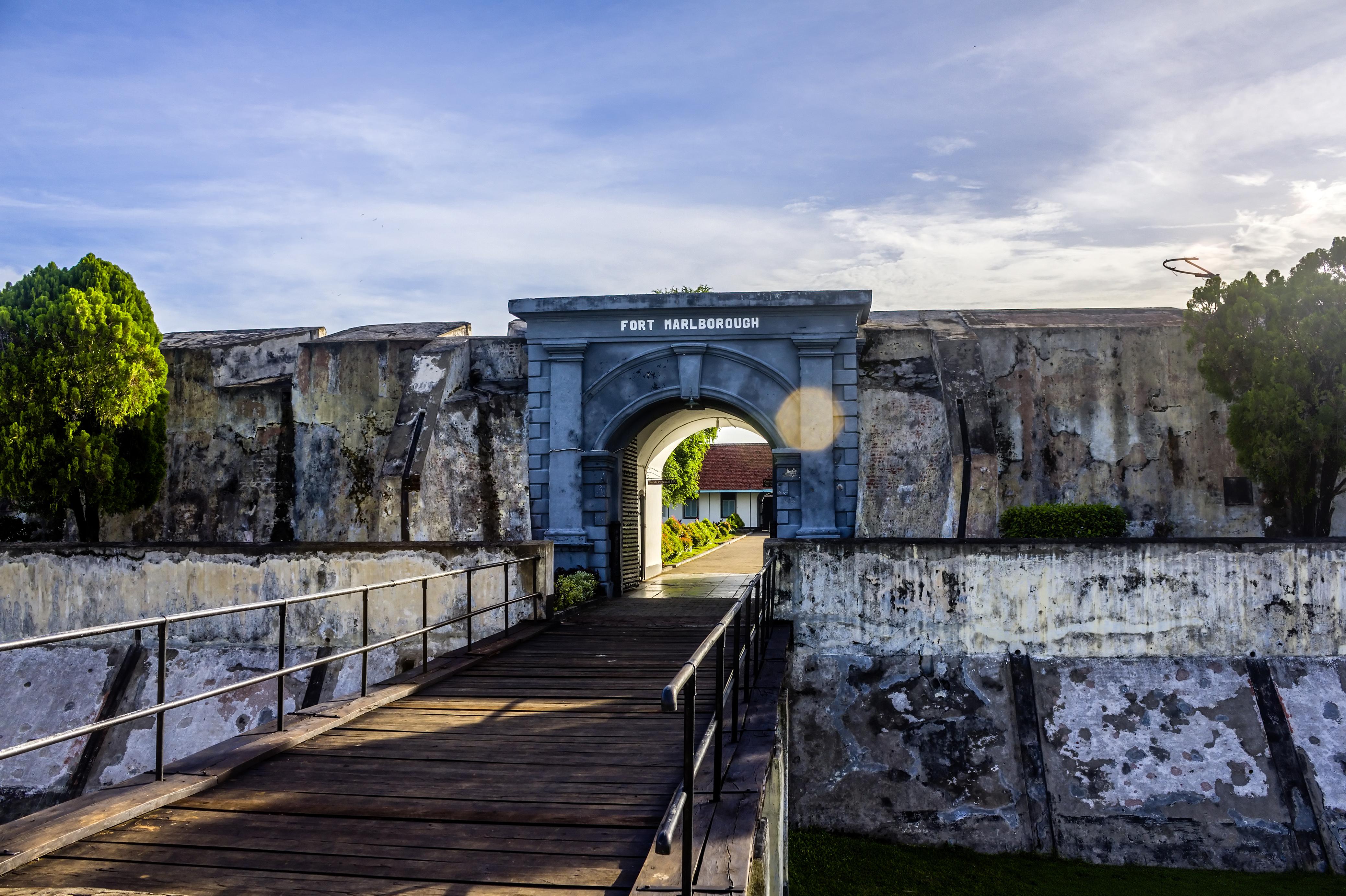 File Front Gate Fort Marlborough Bengkulu 2015 04 19 02