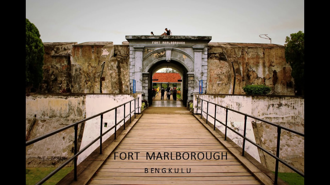 Fort Marlborough Bengkulu Indonesia Youtube Benteng Kota