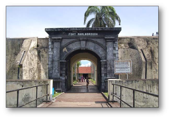 Fort Marlborough Benteng Kota Bengkulu