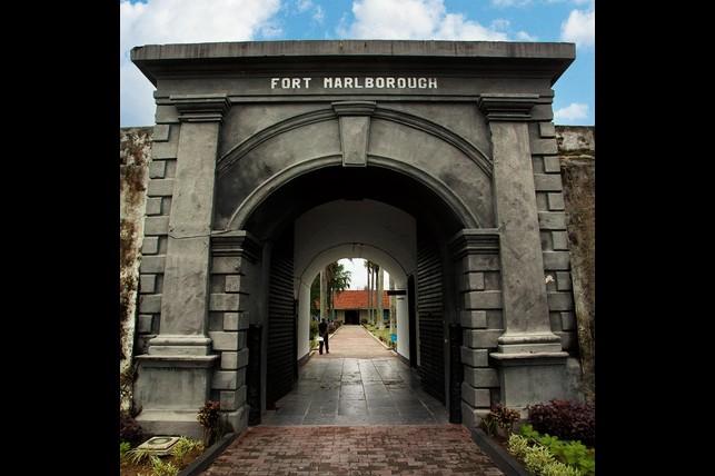 Fort Marlborough Historical Bengkulu Indonesia Benteng Kota