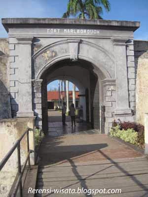 Pintu Gerbang Benteng Marlbourogh Jpg Wisata Kota Bengkulu Wajib Marlborough