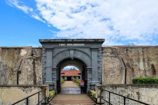 Ticket Counter Enter Picture Fort Marlborough Benteng Kota Bengkulu