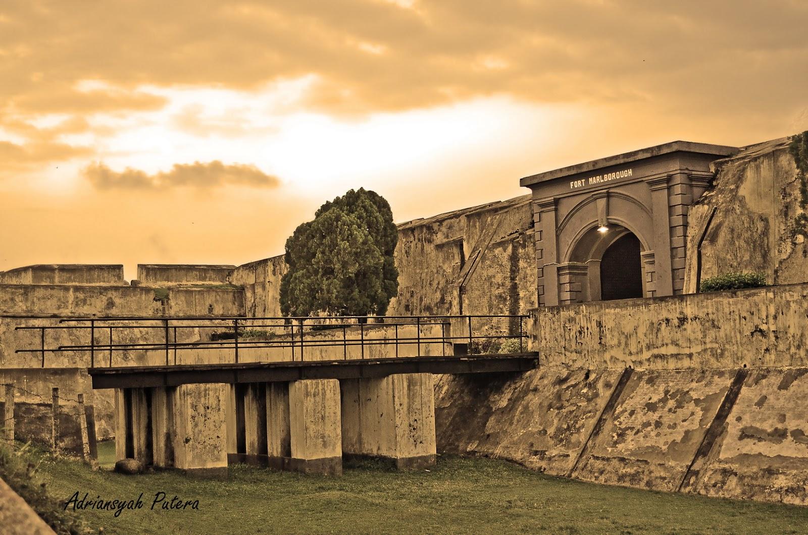 Virtual Adrian Impressive Fort Marlborough Benteng Kota Bengkulu