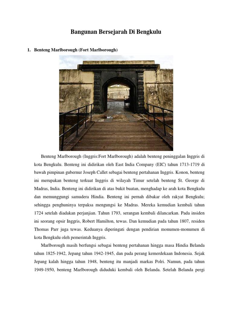 1514705809 1 Monumen Thomas Parr Kota Bengkulu