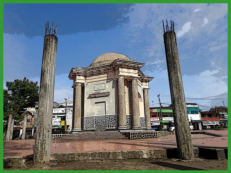 Abrar Khairul Ikhirma Kuburan Bulek Kota Bengkulu Satu Monumen Berdasarkan