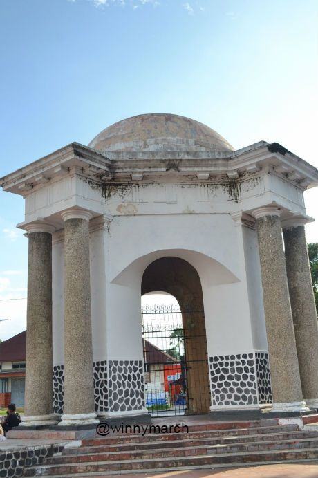 Bengkulu Winny Marlina Tugu Thomass Parr Monumen Thomas Kota