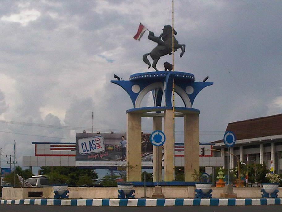 Dalas Photo Foto Essay Patung Monumen Kota Bengkulu Selamat Datang