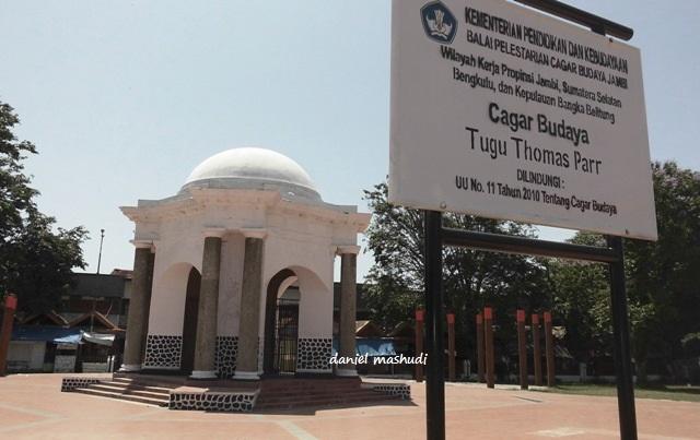 Fort Marlborough Tugu Thomas Parr Saksi Kolonialisme Inggris 1398058120354156061 Monumen