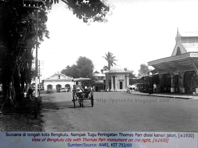 Gallery Bengkulu Indonesia Photo Historical Places Picture Thomas Parr Monument