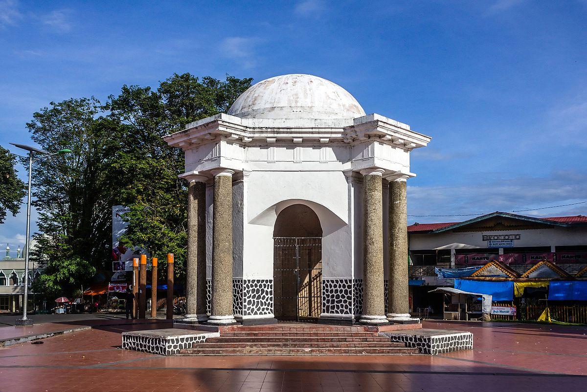 Thomas Parr Monument Wikipedia Monumen Kota Bengkulu