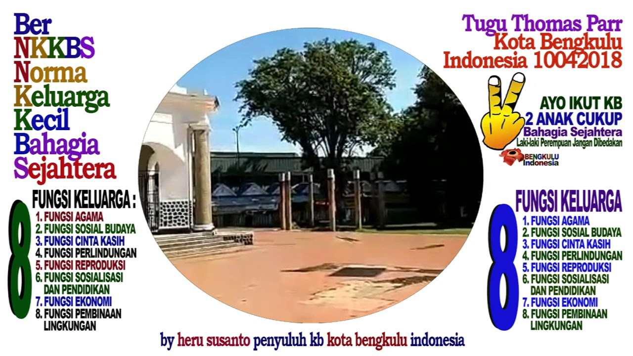 Tugu Thomas Parr Monument Kota Bengkulu Indonesia Monumen